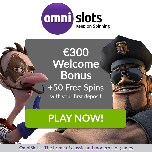 Omnislots huge collection of Bonuses for you to pick from! 10